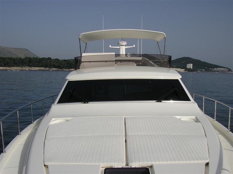 Ferretti 591 Boat Rental Dubrovnik