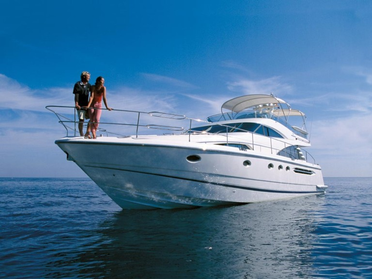 Boat rental Dubrovnik Fairline Squadron55